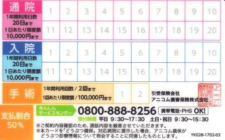 2019どうぶつ健保更新7