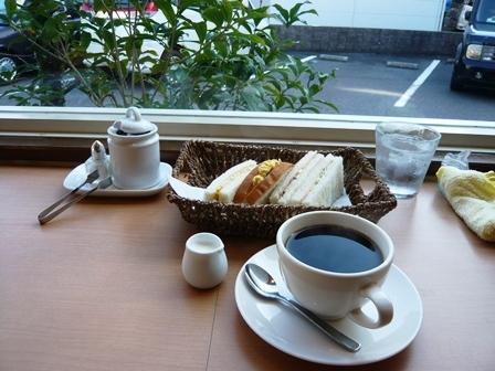 マツリカフェ:ブレンドコーヒー・モーニングサービスC1