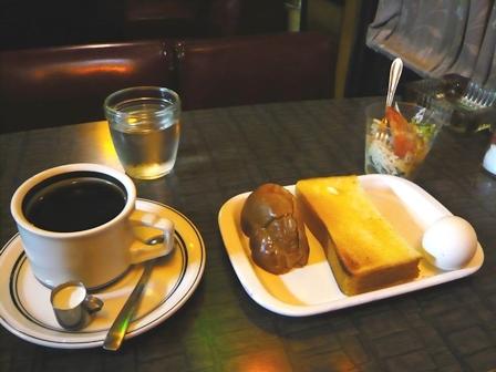 路花:ブレンドコーヒーモーニングサービス1
