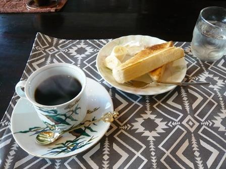 茶十番:アメリカンブレンドコーヒー・モーニング1
