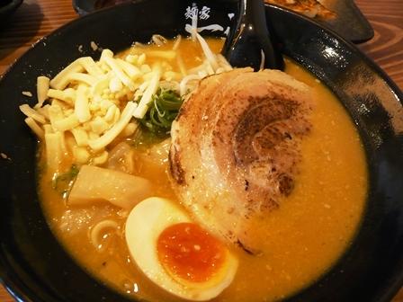 麺家一進:カレー味噌ラーメン1