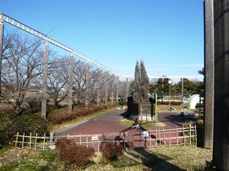 戸田川緑地:とだがわこどもランド;サイクルモノレール2