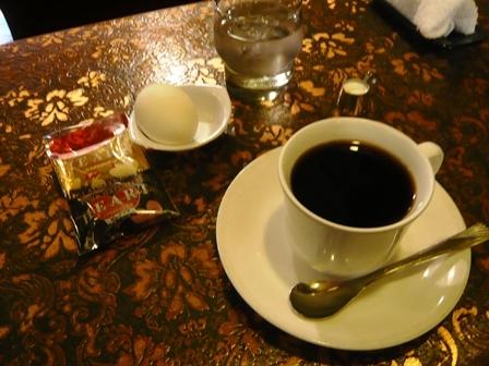 サンピエール:ホットコーヒー・モーニング1