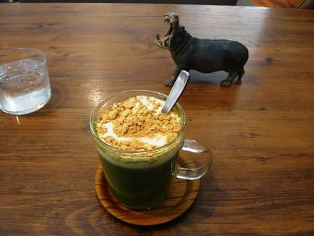 molly:温かい宇治抹茶ミルク2