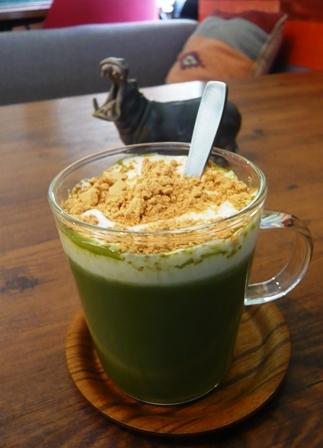molly:温かい宇治抹茶ミルク3