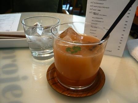 eric-life (=cafe) :ランチ・グァバジュース1