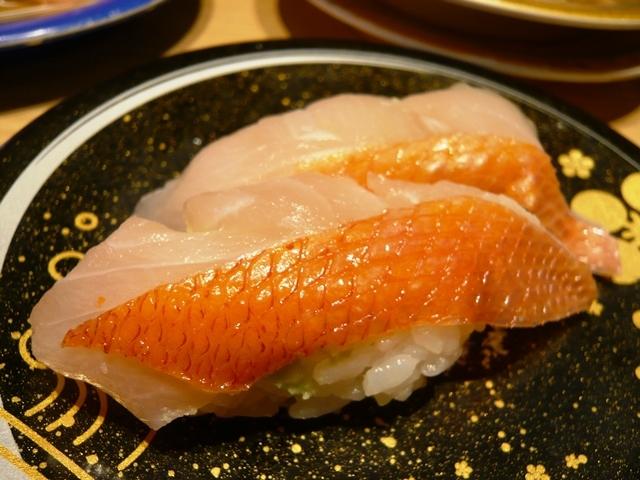 もりもり寿し:金目鯛2