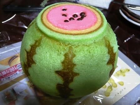 お菓子のたいよう:スイカバームクーヘン1