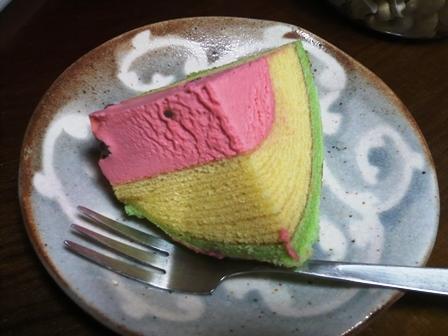 お菓子のたいよう:スイカバームクーヘン3