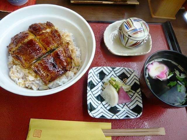 魚勇:鰻丼(並)2