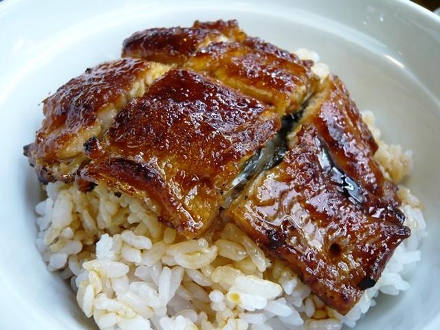 魚勇:鰻丼(並)3