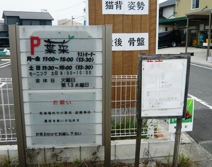 葉菜:駐車場
