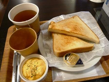 カフェレスト ヤマダ電機:紅茶・モーニング1