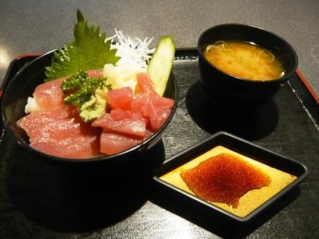 あらぶ:ミニ鉄火丼1