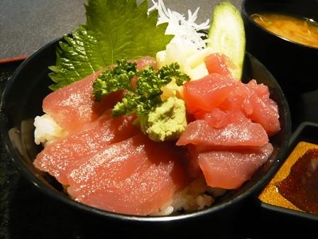 あらぶ:ミニ鉄火丼2