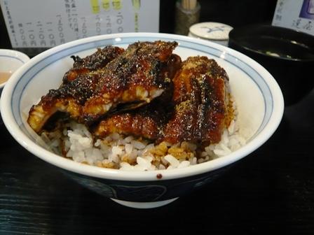 鰻の蓬屋:うなぎ上丼2
