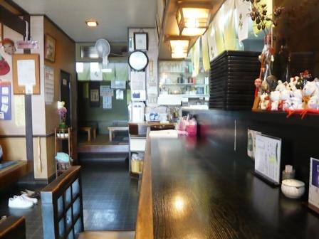 鰻の蓬屋:店内1