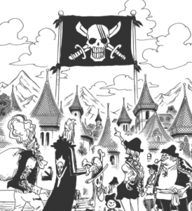 シャンクスの海賊旗