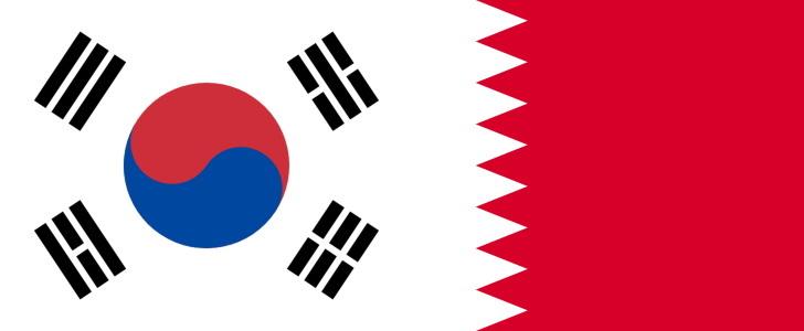 韓国VSバーレーン