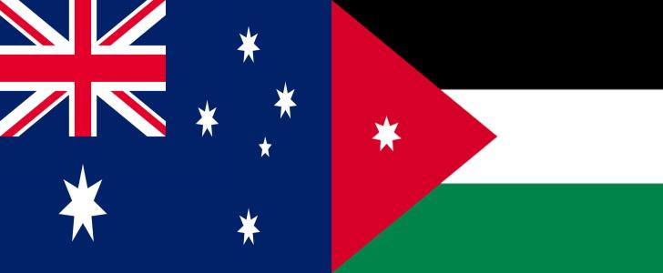 オーストラリアVSヨルダン