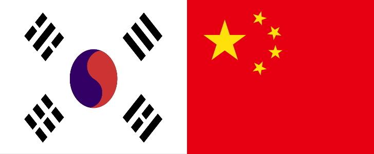 韓国VS中国