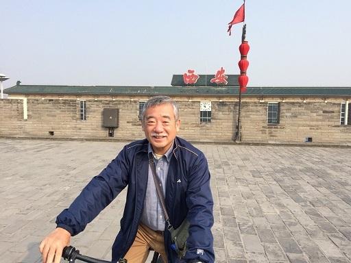 西安_城壁自転車