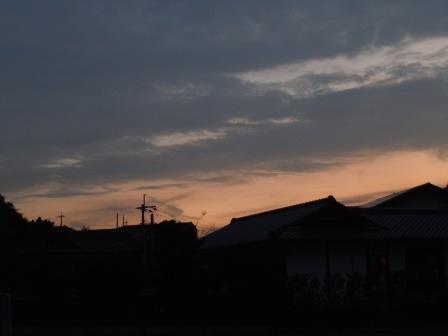 夕景1(2019-08-18)