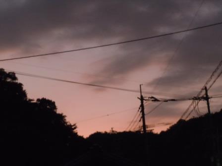夕景1(2019-09-13)