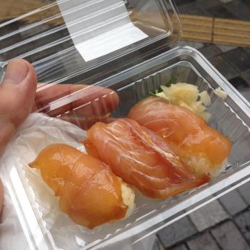 島寿司おいしい