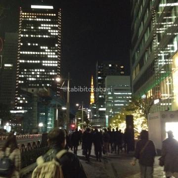 ひさびさ夜の東京タワー_result