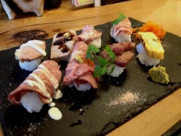これが肉寿司