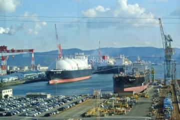 LNGタンカーに出迎えられ_result