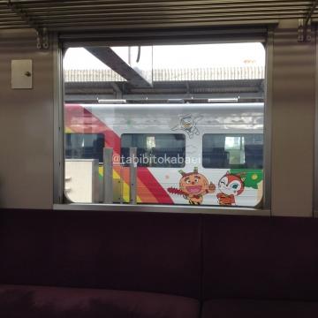 今治でアンパンマン列車_result