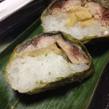 さっぱりとして美味しい秋刀魚寿司_result