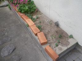 外基礎の花壇