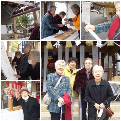 初詣(隅田八幡)