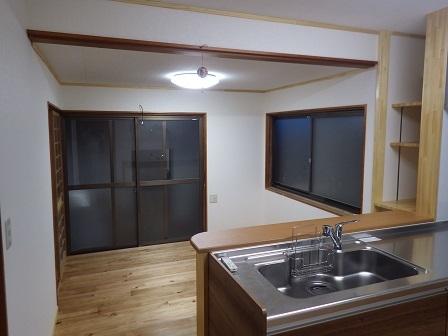 キッチン棚ー河野邸