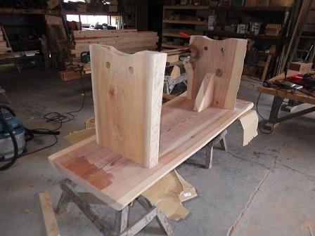 菊地テーブル天板 (2)