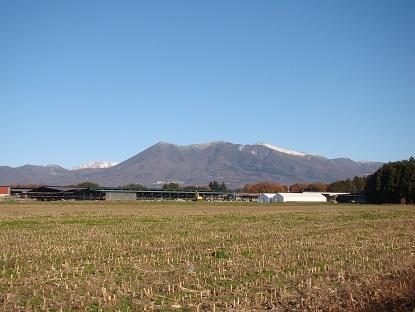 全景那須山