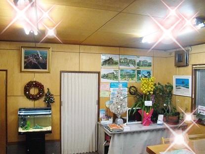 事務所内キラキラ