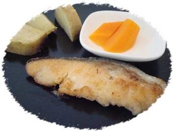 鮭麹焼き切抜