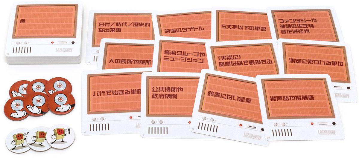 デクリプト拡張:レーザードライブ(日本語版):内容物