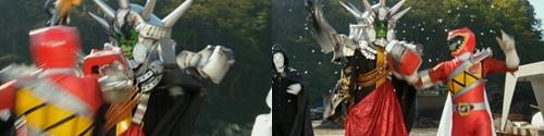 戦隊ヒーロー、キョウリュウレッドがラスボスに大苦戦してやられる