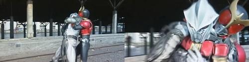 仮面ライダークウガが未確認生命体に反撃
