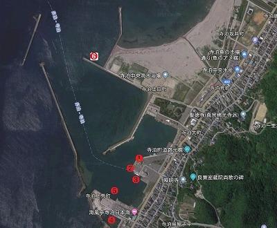寺泊港全景