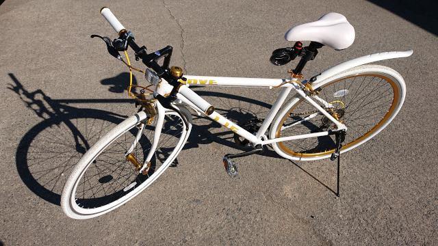 健康維持のために新調したクロスバイク画像