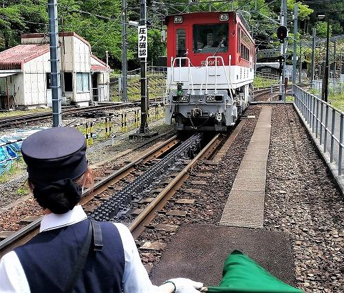 アプト式機関車連結