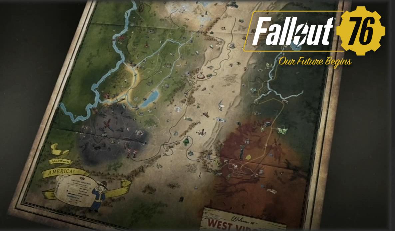 『フォールアウト76』新機能トレジャーマップ!宝の地図を使いレアアイテムを手に入れるやり方!(Fallout 76)