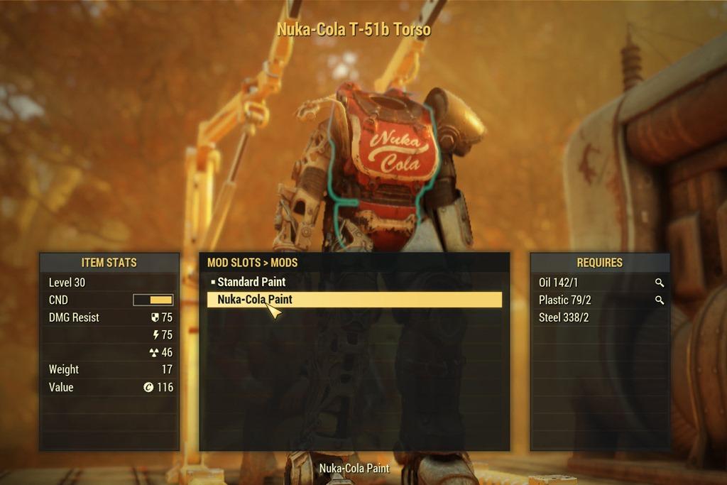 『フォールアウト76』レアアイテム ヌカ・コーラ装備の入手法とパワーアーマーペイント(Fallout 76)