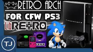 PS3でレトロゲーを!万能エミュ「retroarch」PS3版導入・やり方・設定方